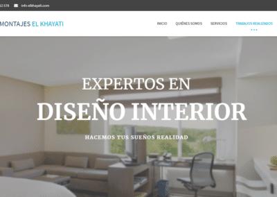 Dieño Web Corporativo El Khayati