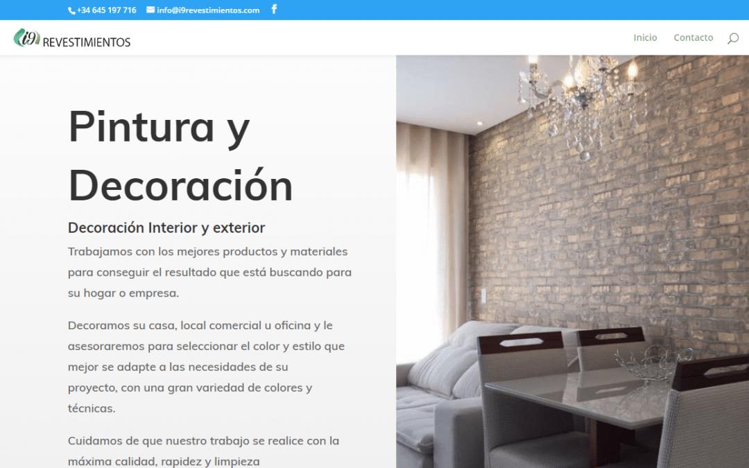Diseño Web Autónomo i9 Revestimientos
