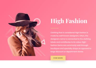 Diseño Web Moda Mercadile