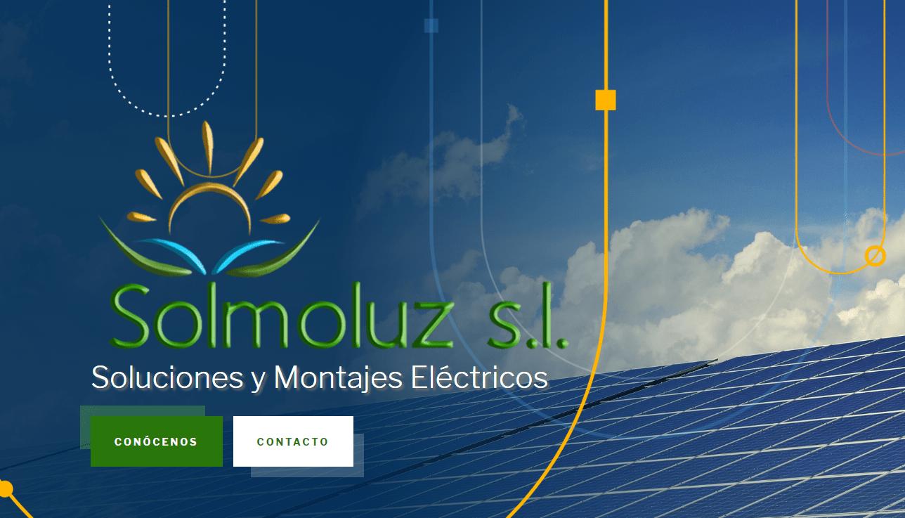 Diseño Web Empresa Solmoluz