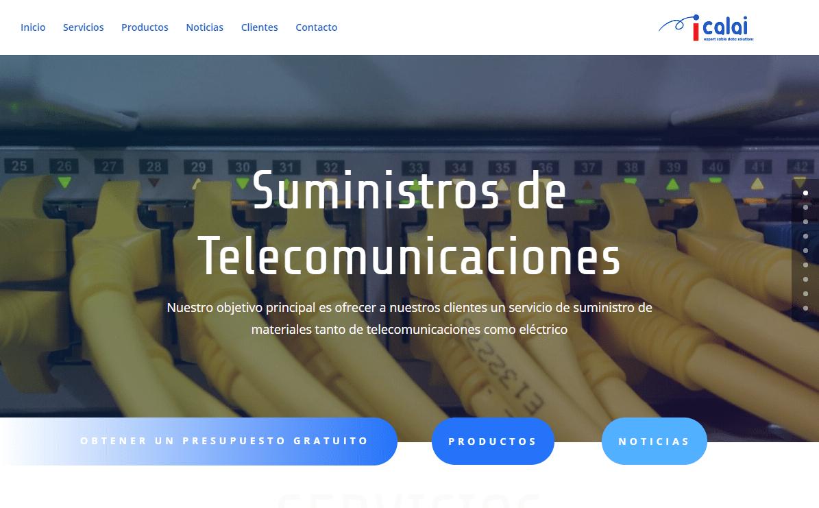 Calai Data Solutions - Suministros de Telecomunicaciones
