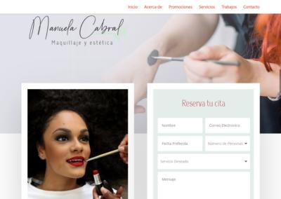 Diseño Web Profesional Manuela Cabral